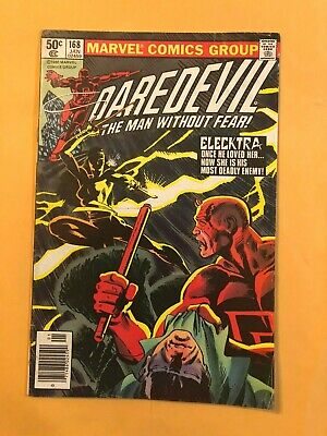 Daredevil #168 January 1981 Marvel Comics 1St App Elektra Frank Miller  Key