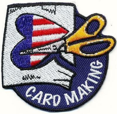 Cub Girl Boy CARD MAKING Fun Patches Crests Badge SCOUT GUIDES craft patriotic