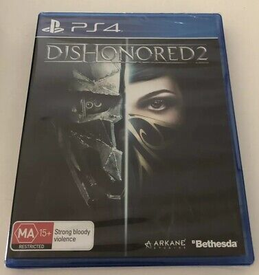 Dishonored 2 Sony PlayStation PS4 NEW & SEALED