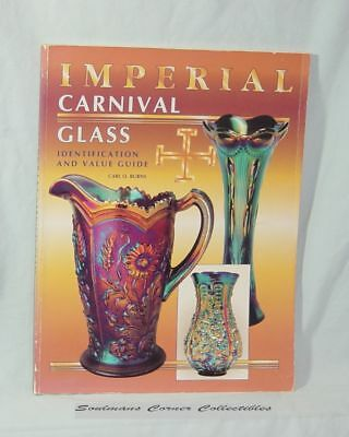 Excellent Reference Imperial Carnival Glass ID and Values Guide ** FREE SHIPPING