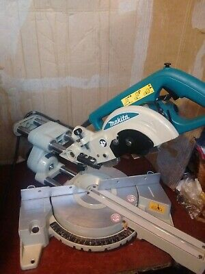 MAKITA LS0714 190mm SLIDING COMPOUND MITRE SAW 110v VERY CLEAN