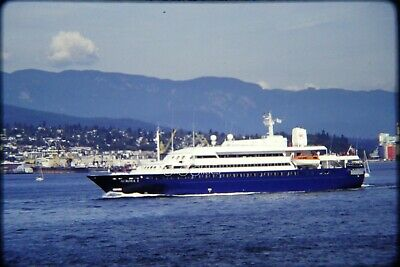 6 x Professional 35mm Slides Cruise Ship Aurora I @ Vancouver BC 1992