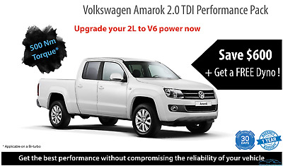 VW Amarok 2.0 TDI Performance Pack 4 cylinder +30KW +100NM Euro Car Upgrades