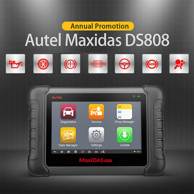 CA Stock Autel DS808 OBD2 Car Diagnostic Scanner Code Reader All System EPB ABS