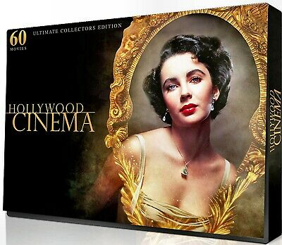 New 8Dvd Set - Hollywood Cinema Classics Collection - Over 60 Movies In 4 Sets