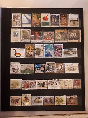 37 timbres Australie (lot MG 1 )
