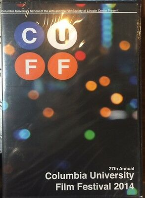 Columbia University Film Festival 2014 DVD CUFF 2 disc Brand New Free Shipping