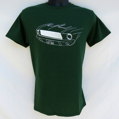 Steve Mcqueen Bullitt Green 1968 Ford Mustang T Shirt Movie Chase Car
