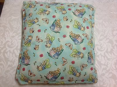 Peter rabbit Beatrix potter small cushion