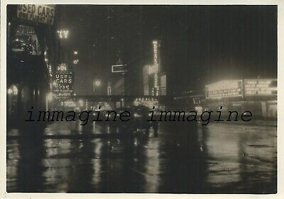 Original photograph New York/6th. street elevated -  1930ca.