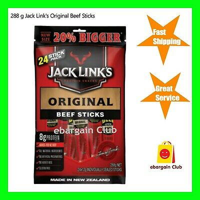 New Size 288g Jack Link's Original Beef Stick Made in New Zealand Bulk Buy eBC