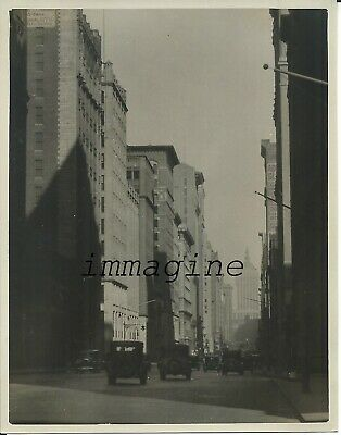 Original photograph New York/Park Avenue 1930ca.
