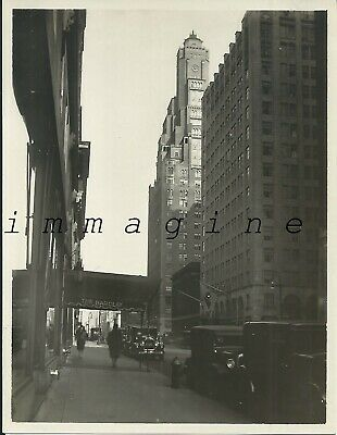 Original photograph New York, Lexington Avenue 1930ca.