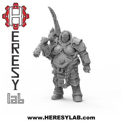 HL07 - FEMALE Lord of Decay Nurgle - Warhammer 40k Proxy- Heresylab