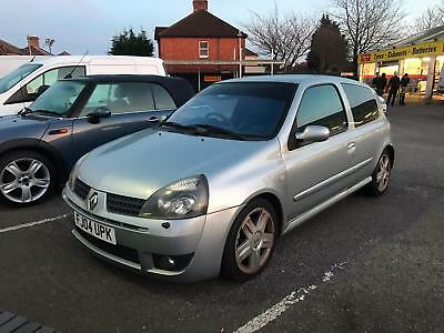 2004 Renault Clio 172 Sport 2.0 Petrol Manual **new Mot** **part Ex To Clear**