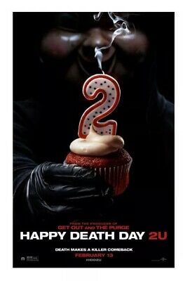 HAPPY DEATH DAY 2U Admit 2 Cinema Tickets Movie Pass