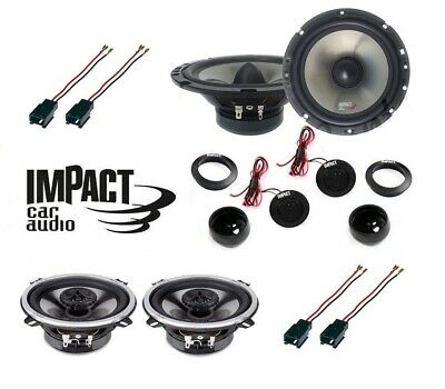 IMPACT Kit 6 casse per PEUGEOT 307 2001>2008 con CONNETTORI PHONOCAR > NEW