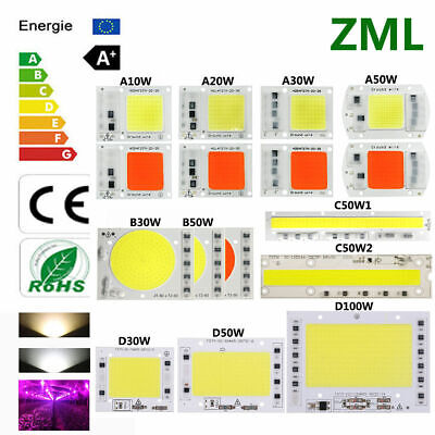 10W20W30W50W100W COB LED Chip 220V Input Integrated Smart IC Driver Floodlight