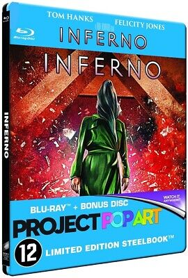 Blu ray steelbook Inferno collection Popart Neuf avec VF