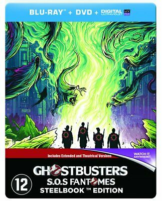 Blu ray steelbook Ghostbusters (2016) collection Popart Neuf avec VF