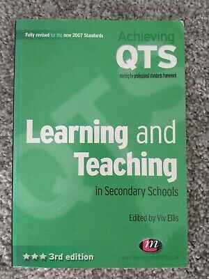 Learning and Teaching in Secondary Schools by SAGE Publications Ltd (Paperback,