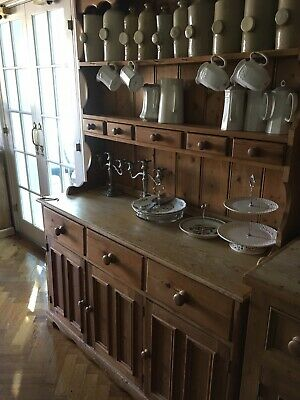 Farmhouse Solid Pine Dresser - used
