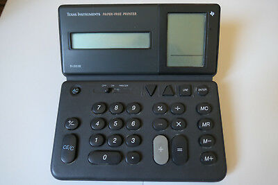 Calculatrice Texas Instruments TI-5038 Paper Free Printer