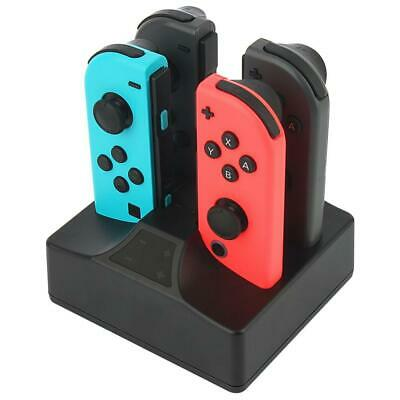 Chargeur Joycon Switch 4 en 1 Station Charge pour Nintendo Manette Joy-con...