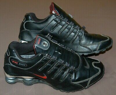 on sale 4bf3e 39701 Nike Shox, Gr. 41, UK 7, Leder, Schwarz