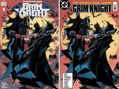 Batman Who Laughs The Grim Knight #1 Philip Tan Modern/retro Trade Variant Set
