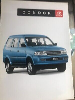 Car Brochure - 2000 Toyota Condor - South Africa