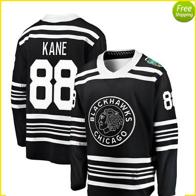 best website daa4d 3d9e4 WINTER CLASSIC 2019 Chicago BlackHawks jersey Patrick Kane special deal  S-3XL