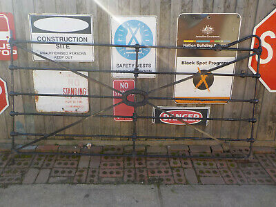 NEW 2 x 8 ft outlaw casting  H. V. Mckay Sunshine Gate Vintage Cast Iron