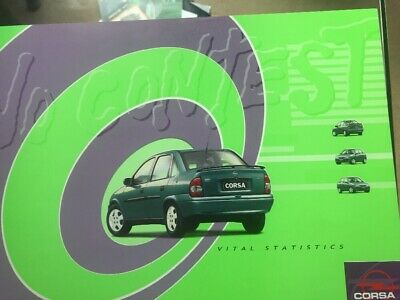 Car Brochure - 1999 Opel Corsa Sedan - South Africa