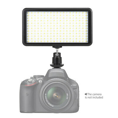 228pcs LED 3200-6000K dimmbar Studio Video Leuchtplatte Lampe 20W für Canon X8Q3