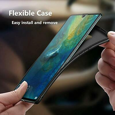 Coque Protection Housse Etui silicone noir mat pour HUAWEI MATE 20