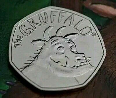 New Release 2019 UK 50p Coin The Gruffalo® CERTIFIED BU Collectable