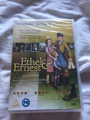 The Ethel and Ernest - Ethel and Earnest A True Story DVD - NEW