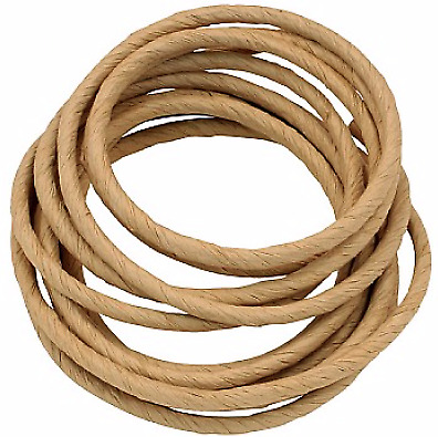 Paper Rope - 7/16 inch x 20 feet - Large - Thick And Tough Bird Safe Rope