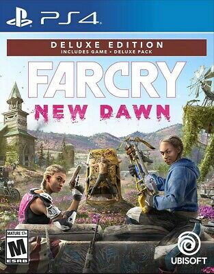 Far Cry : New Dawn Deluxe Edition | PS4 | No CD