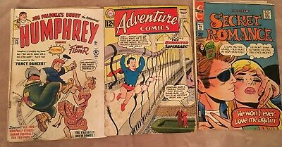 Vintage Lot Mixed Comic Books