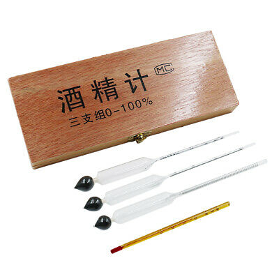 Alcohol Meter Hydrometer For Wine and Beer Making Testing - Pieces