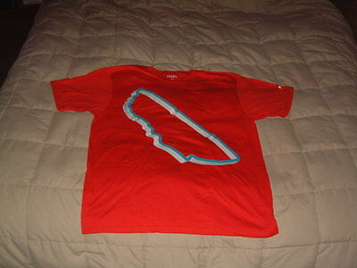 Audi Collection, Audi Sport Le Mans Red T-Shirt W/track & Stats! Usa M, Euro L