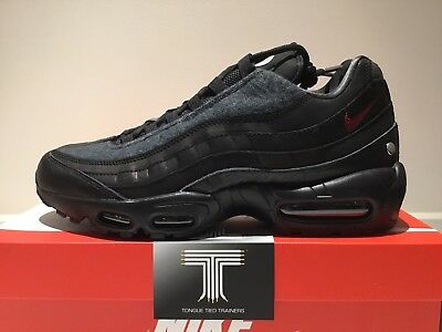 the best attitude e9210 069f6 Nike Air Max 95 NRG Jacket Pack Black ~ AT6146 001 ~ Uk Size 9