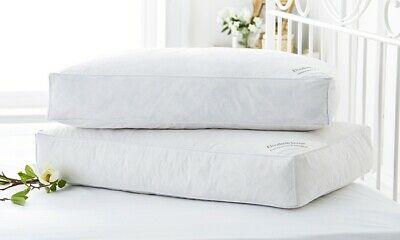 Elizabeth Jayne Duck Feather /& Down Pillows Hotel Quality ~ 100/% Cotton Cover ~