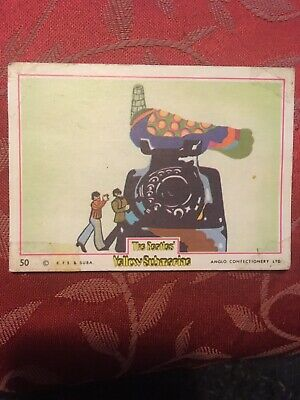 The Beatles Yellow Submarine Anglo Bubblegum Card #50