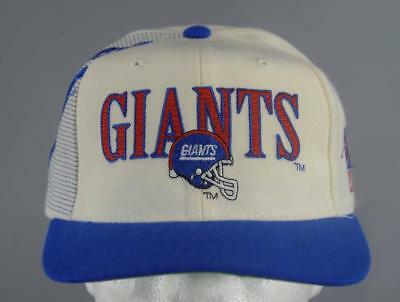 Vintage Giants Football Sports Specialties Pro Line Snapback Hat Cap Team  NFL b79844be2
