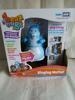 Beat Bugs Singing Walter Interactive, sings the Beatles along with the TV show