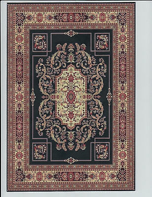 """1:12 Scale Dollhouse Area Rug 0001135 - approximately 7 1/4"""" x 10 1/2"""""""