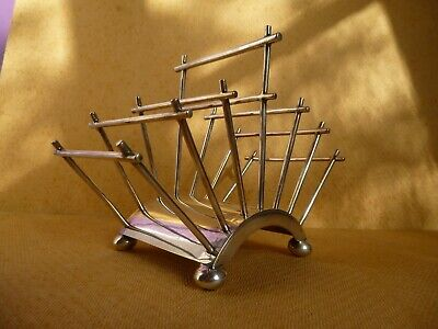 CHRISTOPHER DRESSER  Toast Rack  AESTHETIC MOVEMENT   Mappin & Webb's   STUNNING